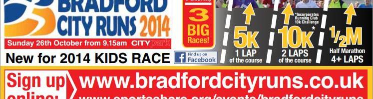 Bradford City Runs 2014