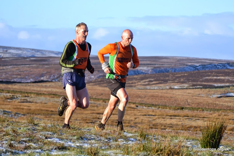 Pete & Mick on leg 1 of the GWF Relay - Thanks to Woodentops for the photo.